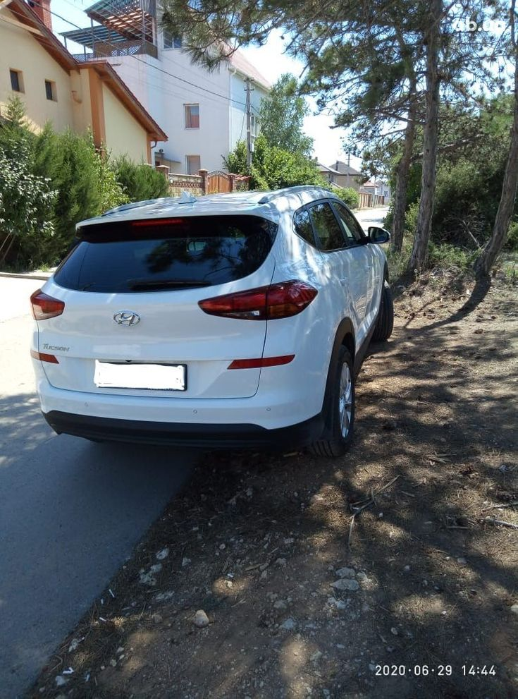Hyundai Tucson 2019 белый - фото 3
