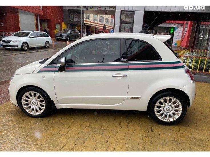 Fiat 500 2011 белый - фото 3