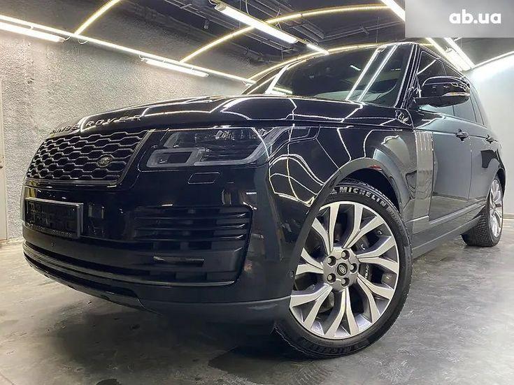 Land Rover Range Rover 2019 черный - фото 3