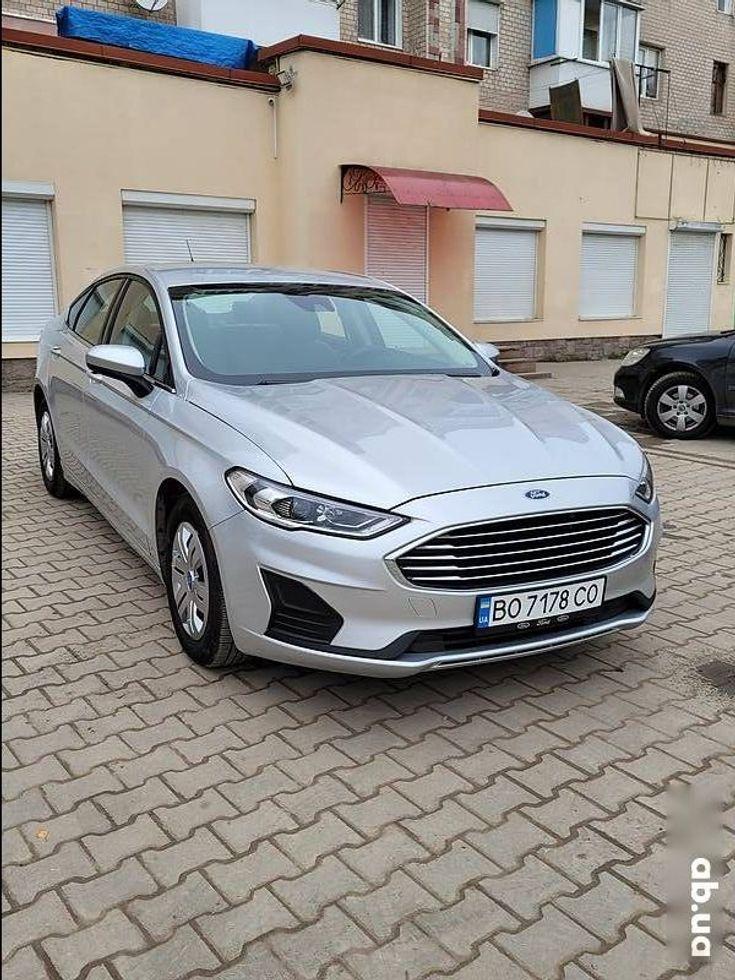 Ford Fusion 2019 серый - фото 19