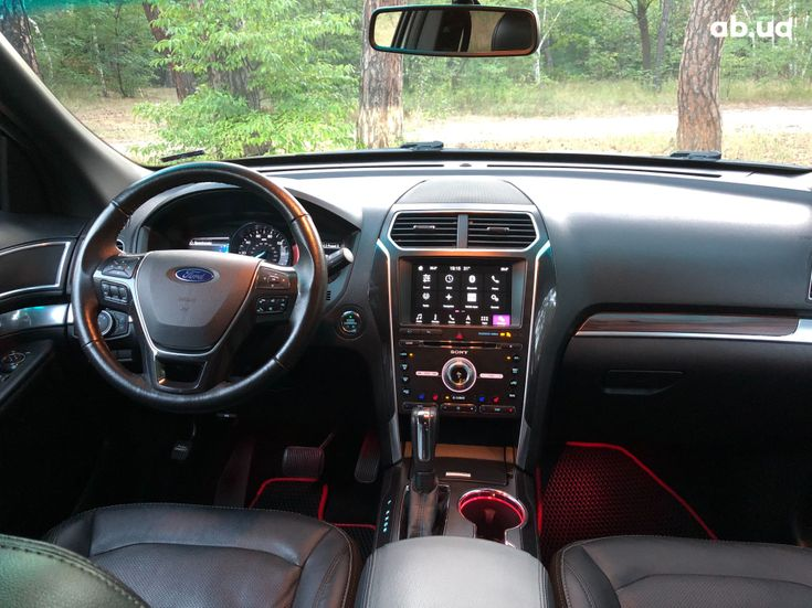 Ford Explorer 2016 серебристый - фото 9
