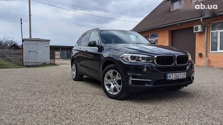 BMW X5 2014 серый - фото 1