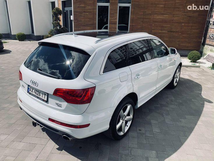Audi Q7 2013 белый - фото 8