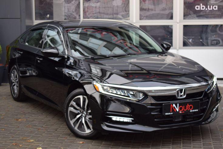 Honda Accord 2020 черный - фото 2