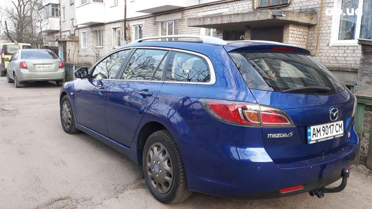 Mazda 6 2009 синий - фото 4