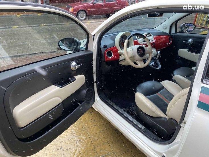 Fiat 500 2011 белый - фото 5