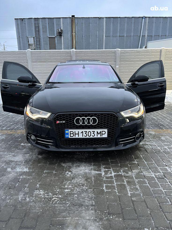 Audi A6 2013 черный - фото 1