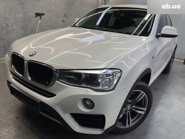 BMW X4 2016 белый - фото 1