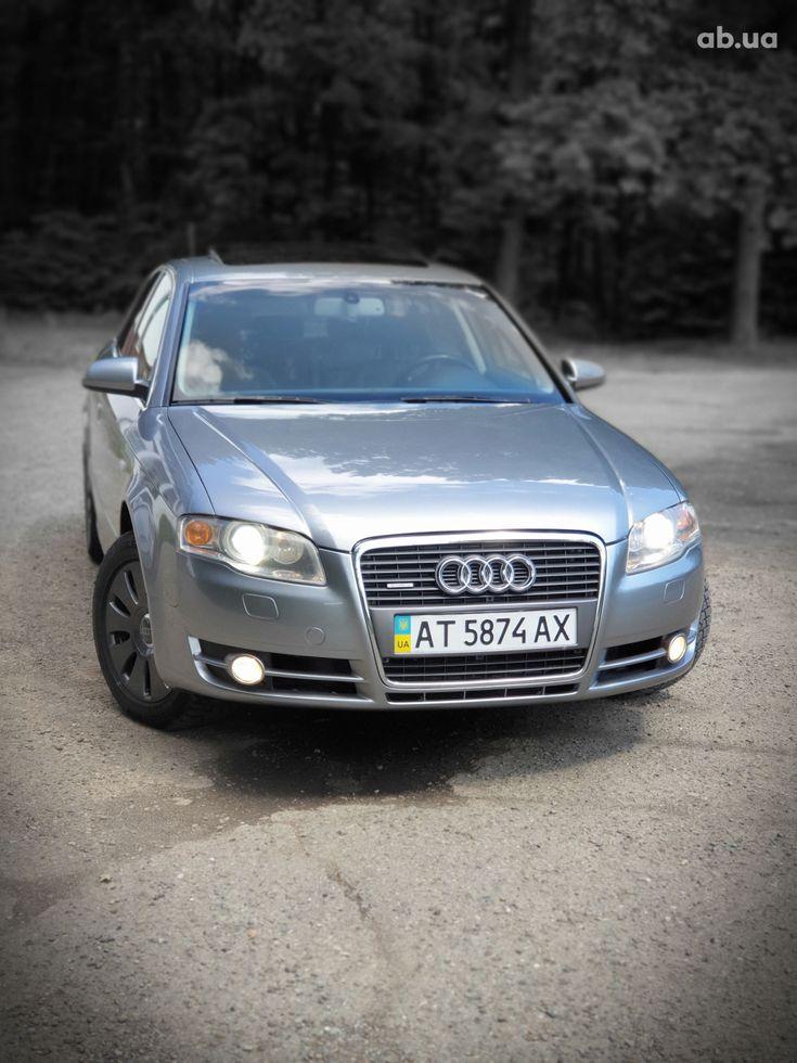 Audi A4 2007 серый - фото 4