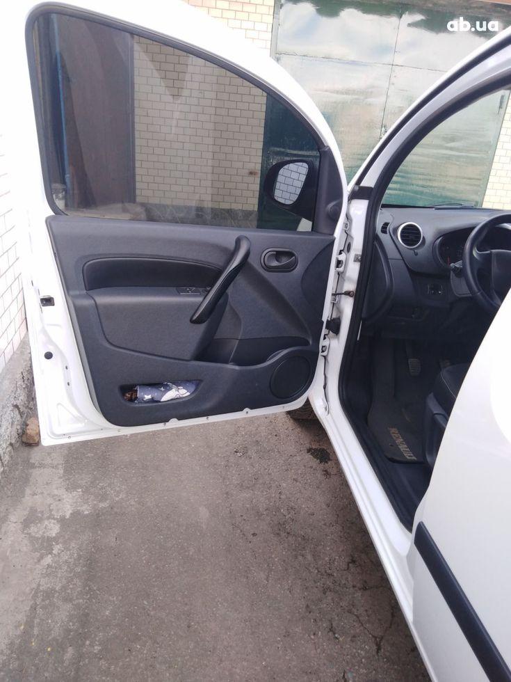 Renault Kangoo 2014 белый - фото 4