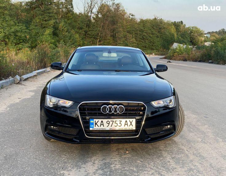 Audi A5 2014 черный - фото 3