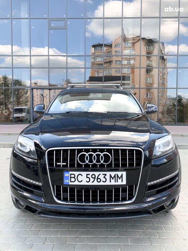 Audi Q7 2012 черный - фото 3