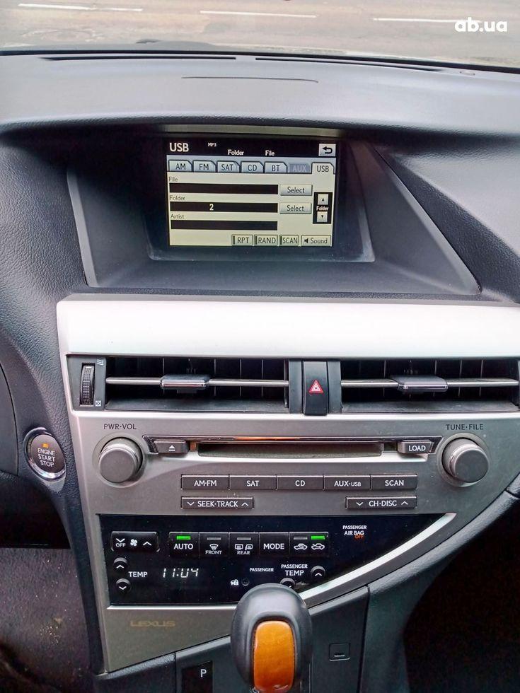 Lexus RX 2010 черный - фото 16