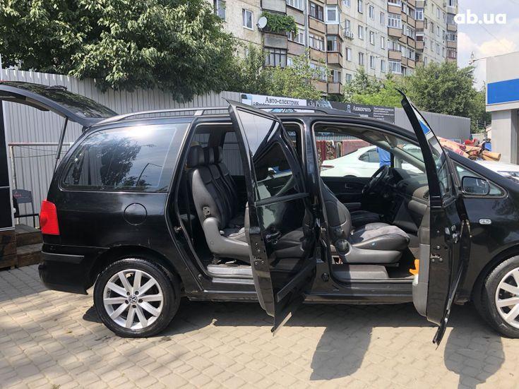 Volkswagen Sharan 2000 черный - фото 12