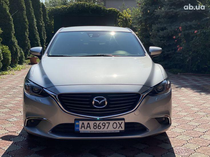 Mazda 6 2015 серебристый - фото 2