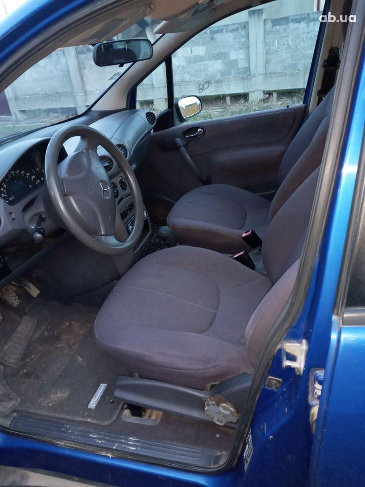 Mercedes-Benz A-Класс 2000 синий - фото 7