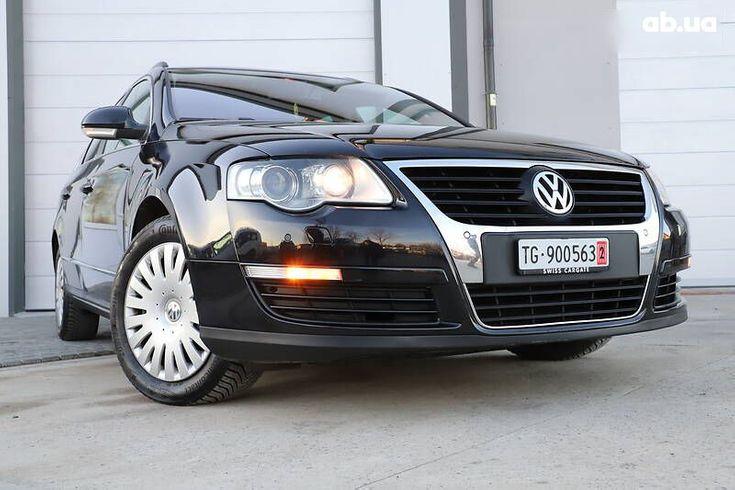 Volkswagen passat b6 2008 черный - фото 17