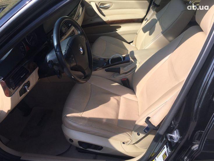 BMW 3 серия 2010 черный - фото 7