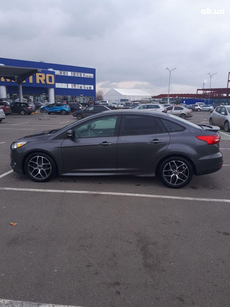 Ford Focus 2015 серый - фото 3