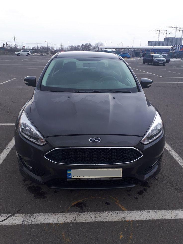 Ford Focus 2015 серый - фото 1