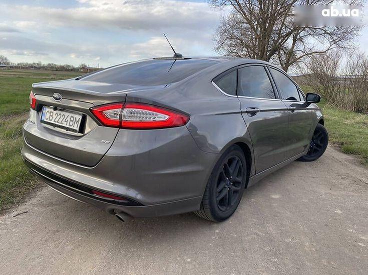 Ford Fusion 2014 серый - фото 14