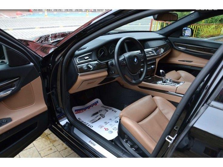 BMW 7 серия 2009 черный - фото 8