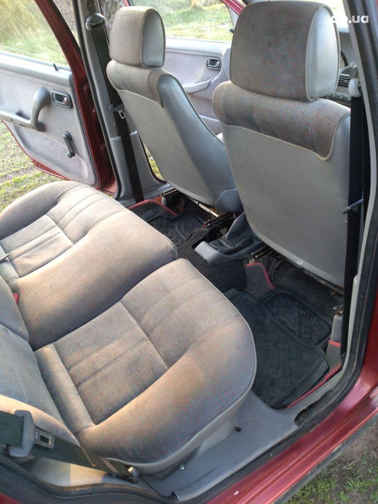 Fiat Punto 1998 красный - фото 8