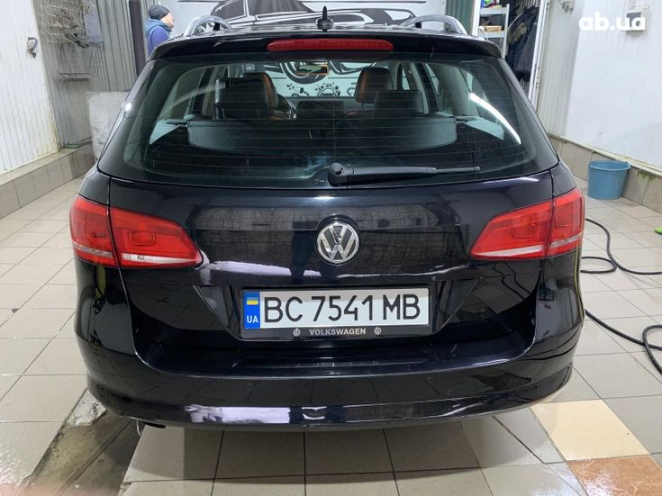 Volkswagen Passat 2014 черный - фото 4