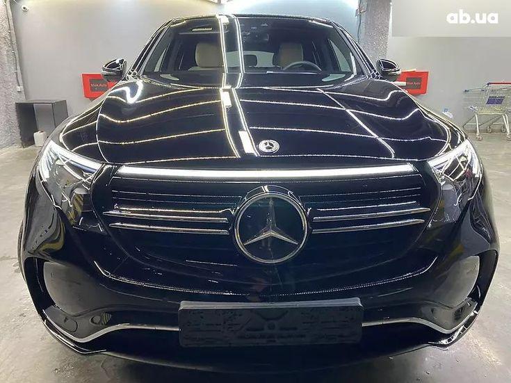 Mercedes-Benz EQC-Класс 2020 черный - фото 1