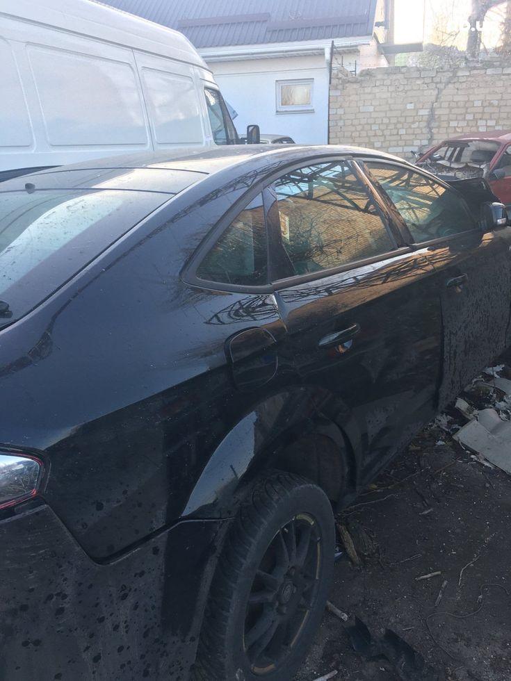Ford Mondeo 2013 черный - фото 1
