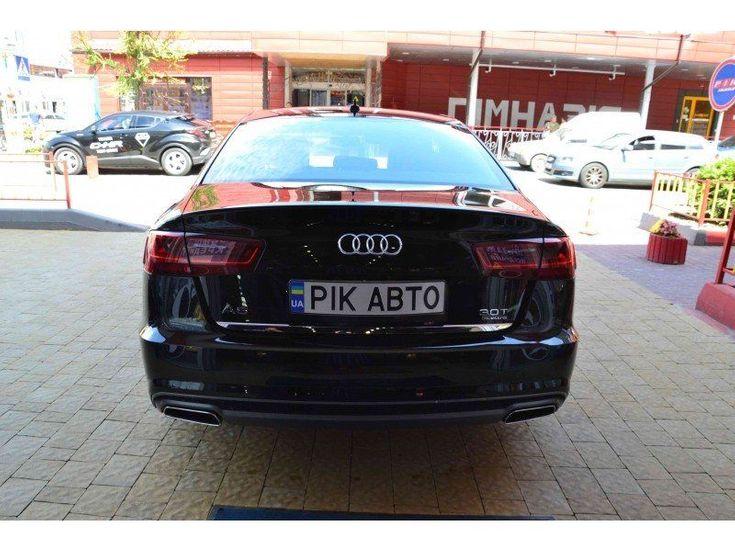 Audi A6 2016 черный - фото 4