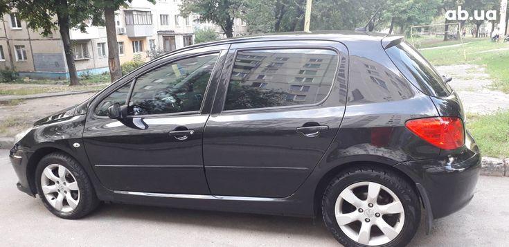 Peugeot 307 2006 черный - фото 2