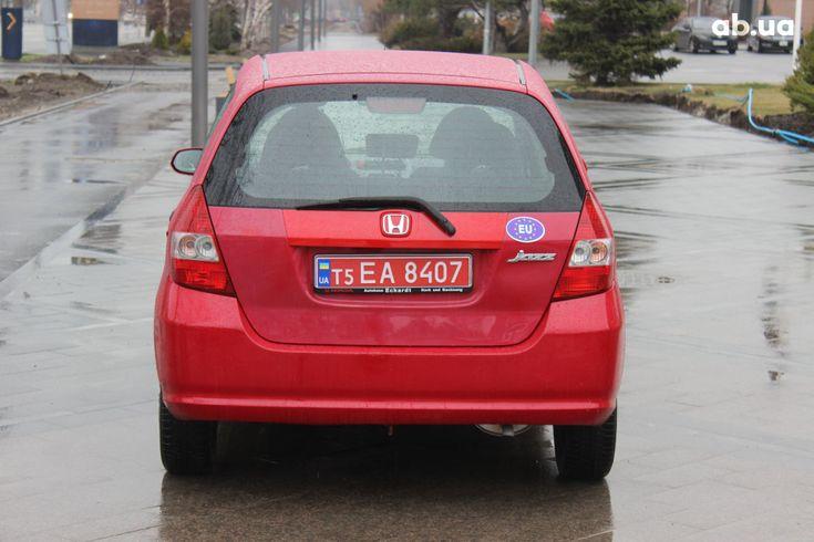 Honda Jazz 2004 красный - фото 3