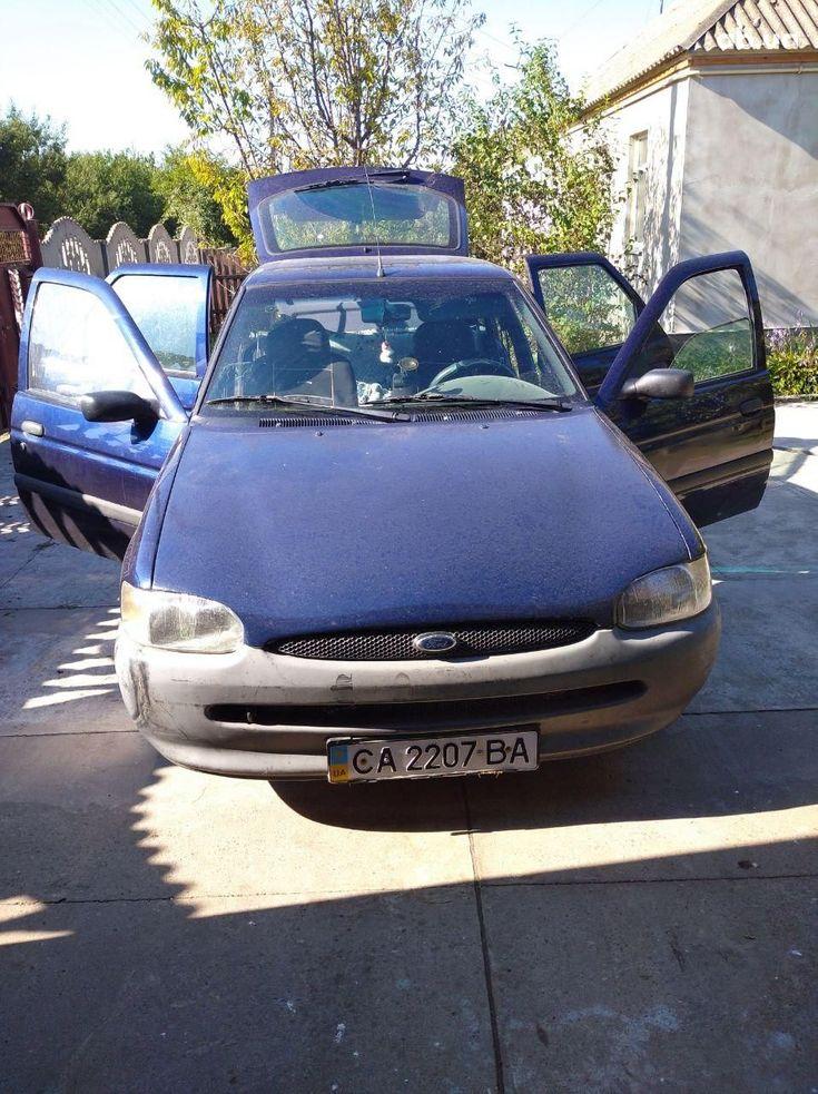 Ford Escort 1997 синий - фото 1