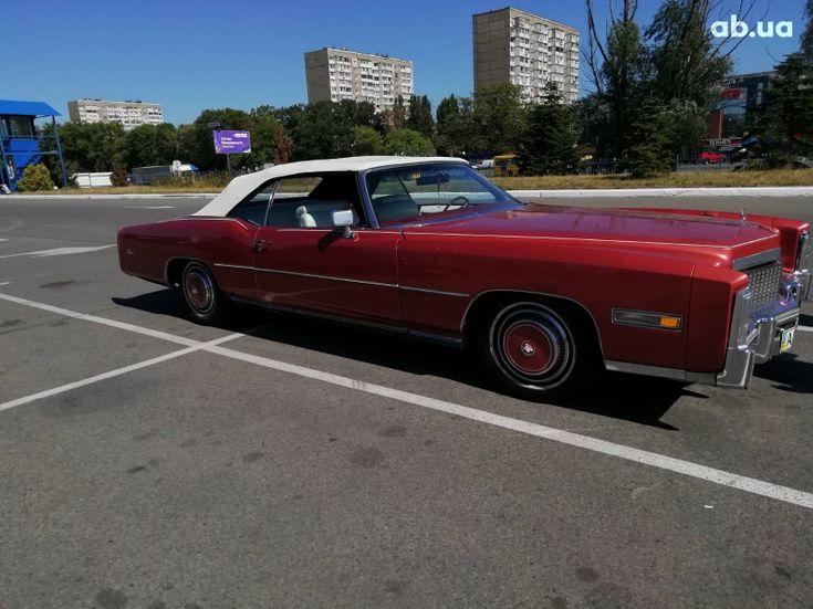 Cadillac Eldorado 1979 вишневый - фото 1