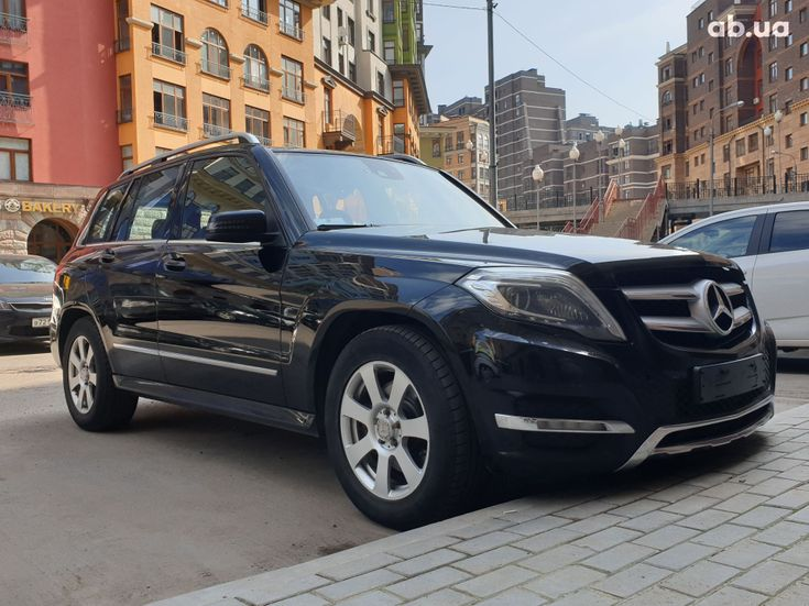 Mercedes-Benz GLK-Класс 2012 черный - фото 2