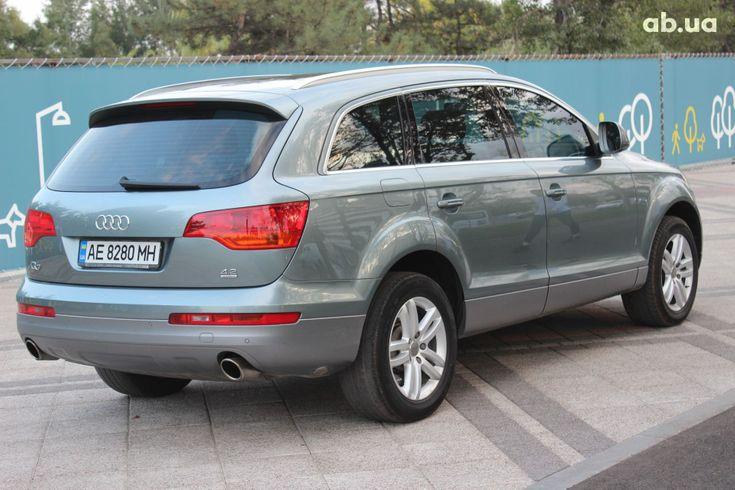 Audi Q7 2007 серый - фото 13