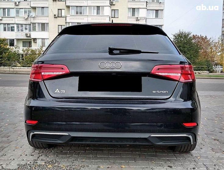Audi A3 2017 черный - фото 5