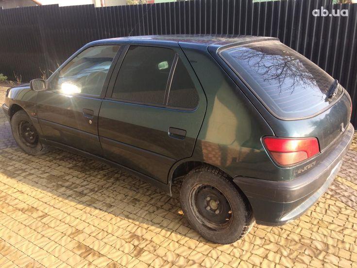Peugeot 306 1997 зеленый - фото 1