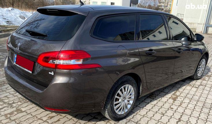 Peugeot 308 2015 коричневый - фото 5