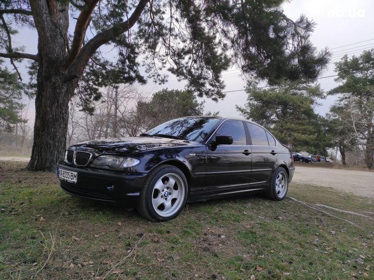 BMW 3 серия 2003 черный - фото 1