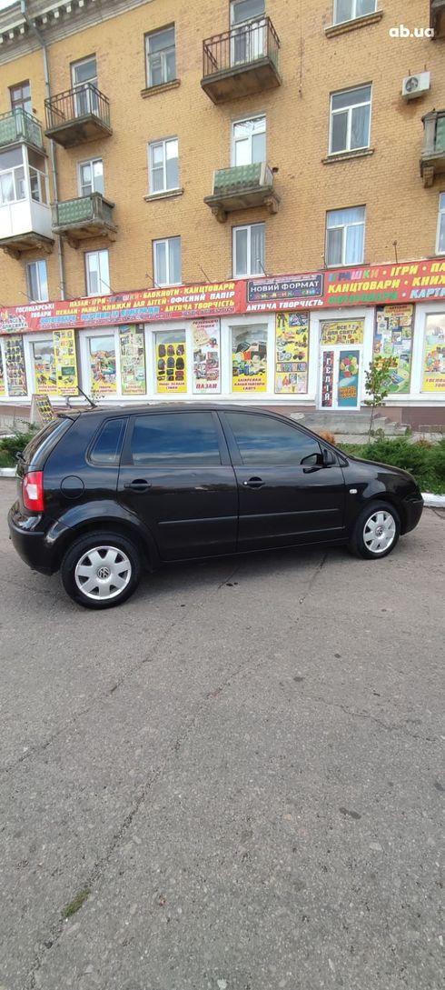 Volkswagen Polo 2002 черный - фото 3