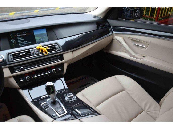 BMW 5 серия 2011 синий - фото 8