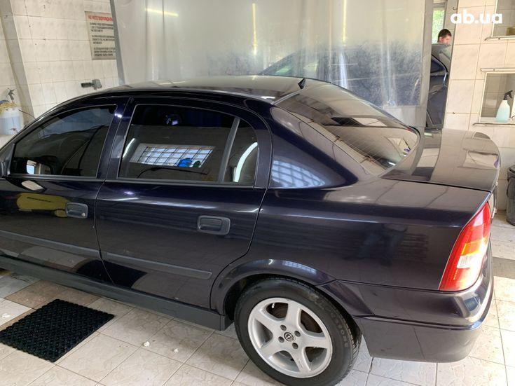 Opel Astra G 2003 синий - фото 3