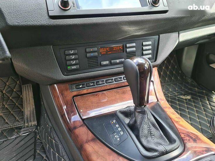 BMW X5 2005 черный - фото 14