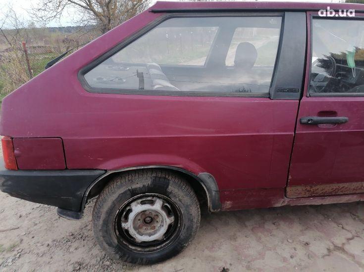 ВАЗ 2108 1993 красный - фото 5