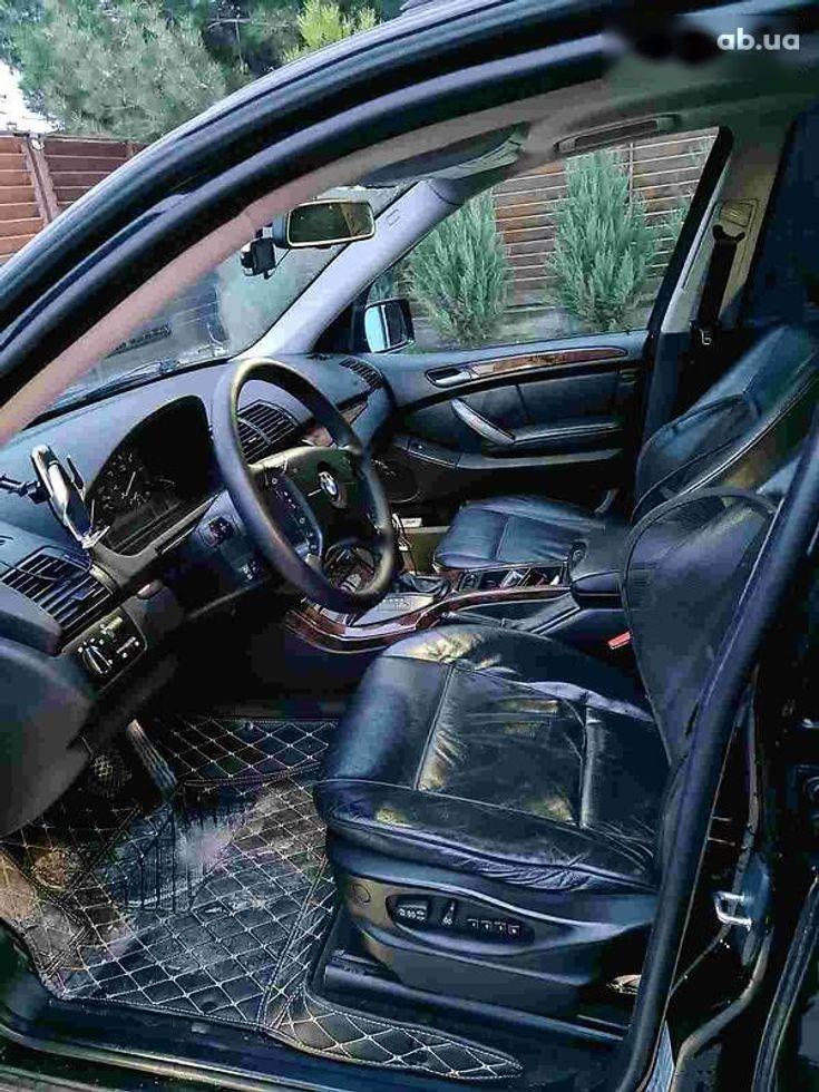 BMW X5 2005 черный - фото 8