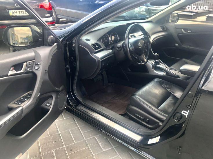 Acura TSX 2010 черный - фото 8