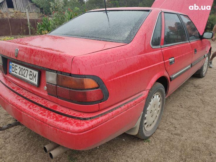 Rover 820 1994 красный - фото 3