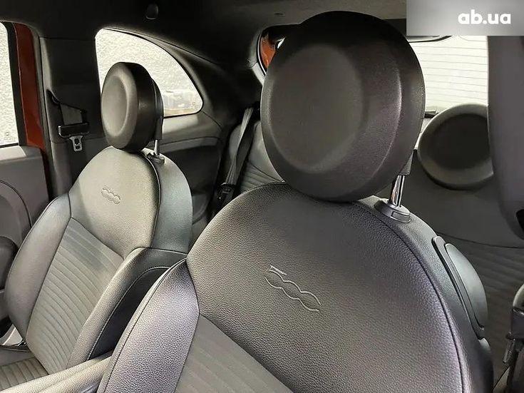 Fiat 500 2016 коричневый - фото 9